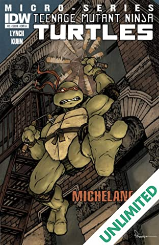 Teenage Mutant Ninja Turtles Micro Series #2: Michelangelo